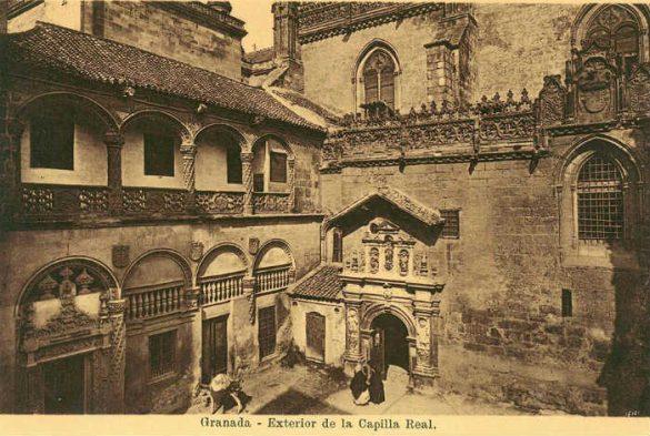Capilla Real Exterior. Granada