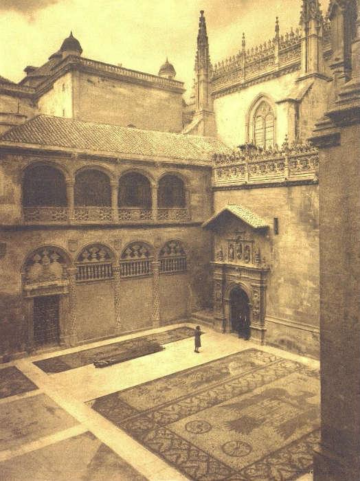 Capilla Real Placeta 1944. Granada