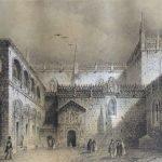 Capilla Real. Litografia de Parcerisa, 1839-1865. Granada