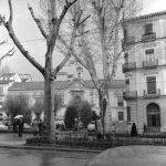 Carrera de la Virge. Palacio de Bibataubín. 1962