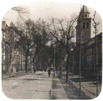 Carrera de la Virgen a principios del XX. Granada