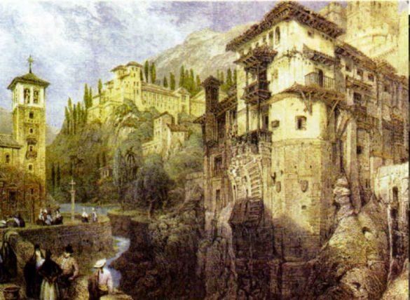 Carrera del Darro 1833. Granada