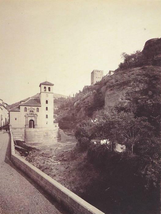 Carrera del Darro. Iglesia de San Pedro y San Pablo. 1885-1890.