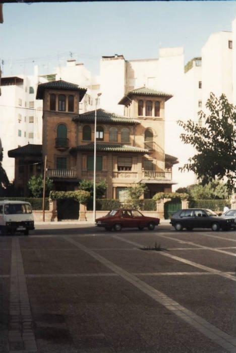 Casa Antigua de la calla Alhamar en Granada