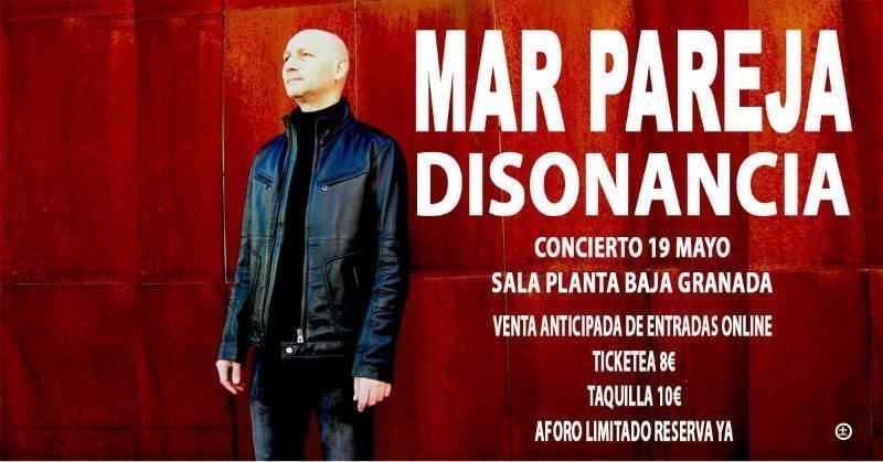"MAR PAREJA (Lagartija Nick) presenta ""Disonancia"" - Planta Baja (19/05/18)"