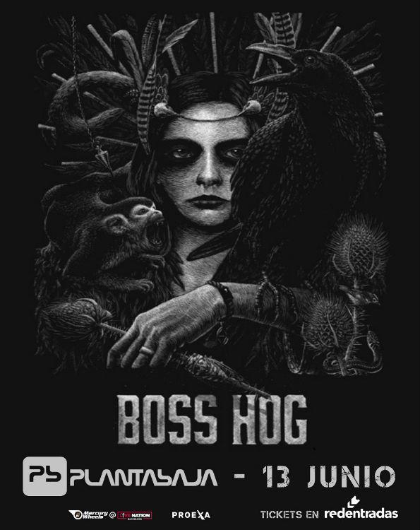 Boss Hog - Planta Baja (13/06/18)