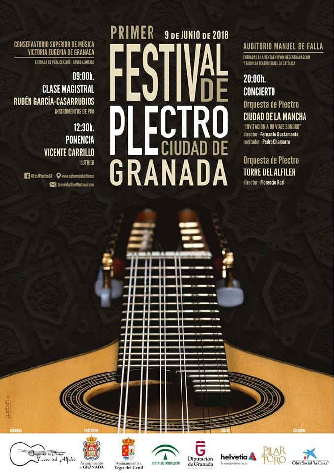 Festival de Plectro Ciudad de Granada - Auditorio Manuel de Falla