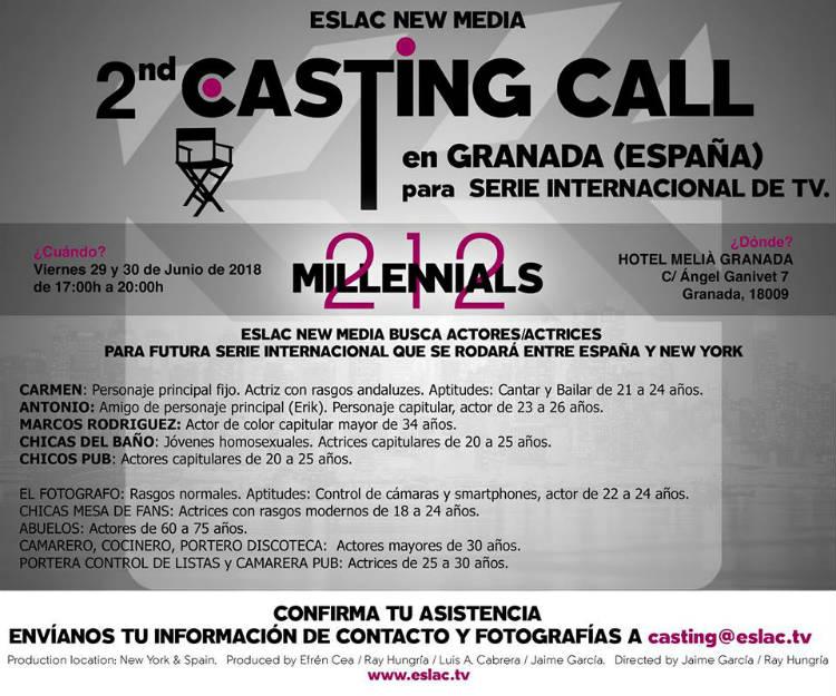 casting call eslac new media granada