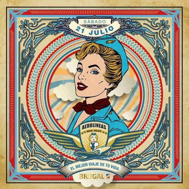Aerolíneas Mae West Granada (21/07/18)