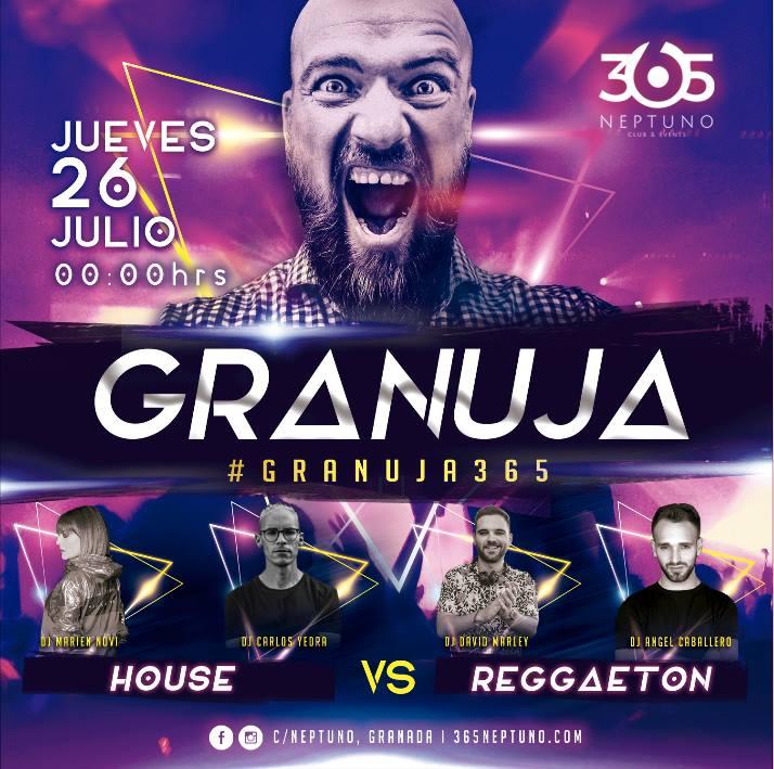 Granuja Party Vol. II - 365 Neptuno (26/07/18)