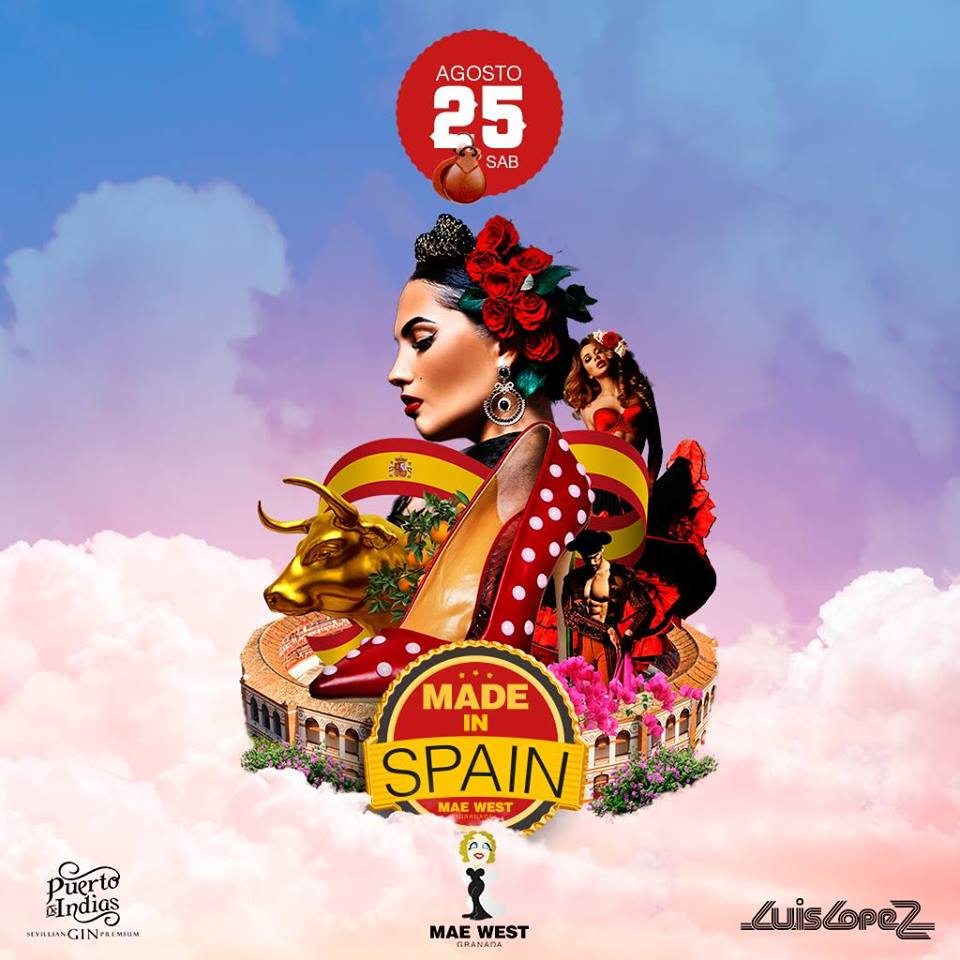 Party Made in Spain - Mae West (25/08/18)