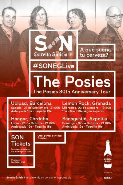 The Posies en Granada | SON Estrella Galicia (03/10/18)