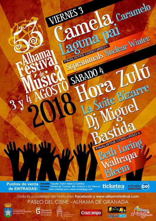 Alhama Festival 2018 (03,04/08/18)