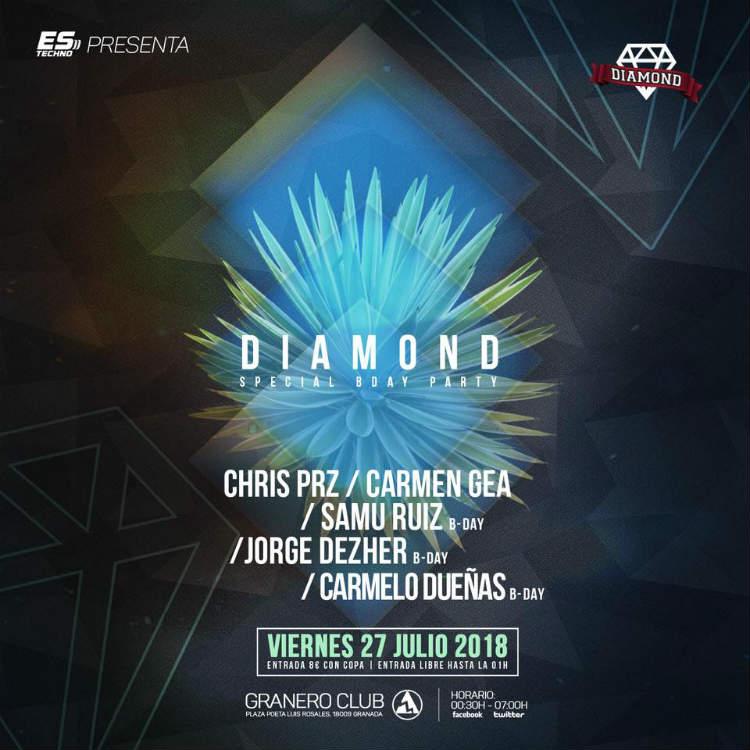 Diamond Party - Granero Club (27/07/18)