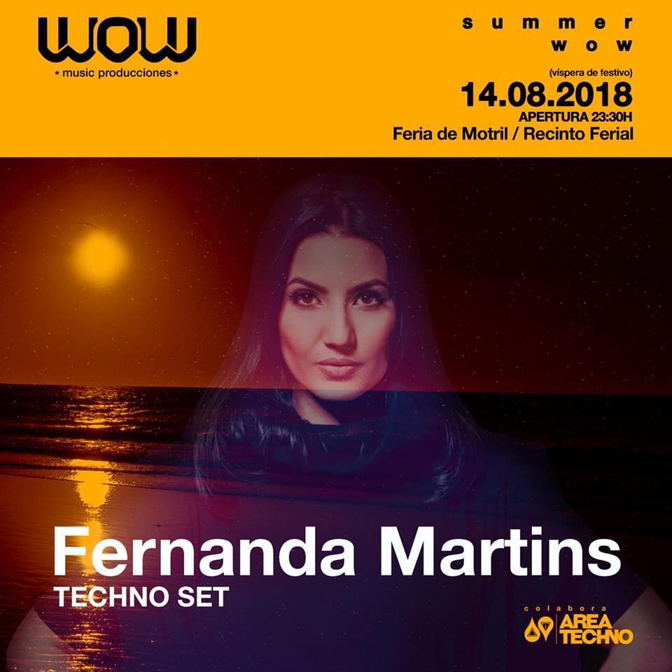 Fernanda Martins - Recinto Ferial Motril (14/08/18)