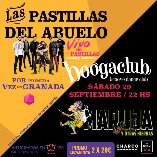 Las Pastillas del Abuelo - Boogaclub (29/09/18)