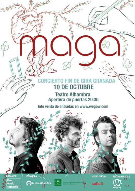 Maga - Teatro Alhambra (10/10/18)