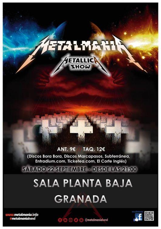 Metalmanía - Metallica Show - Planta Baja (22/09/18)