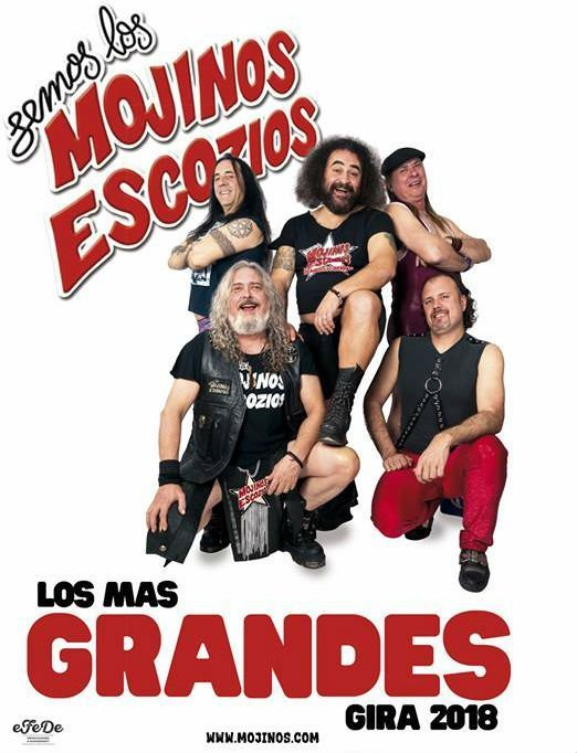 Mojinos Escozios - Festival Zaidín Rock 2018 (06/09/18)