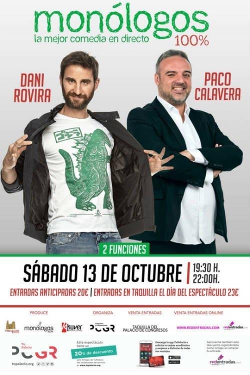 Dani Rovira y Paco Calavera - Palacio de Congresos (13/10/18)