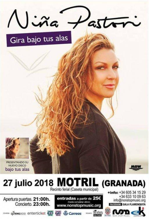 Niña Pastori - Motril (27/07/18)