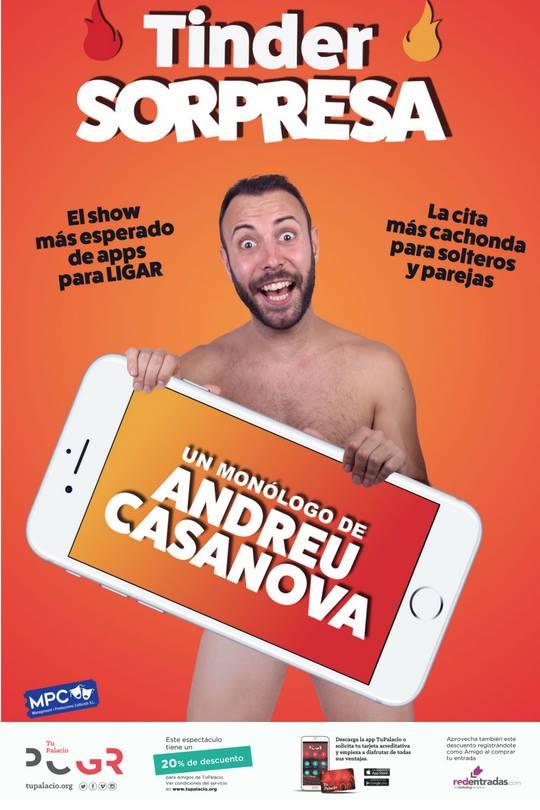 ¡Tinder Sorpresa! con Andreu Casanova palacio de congresos granada