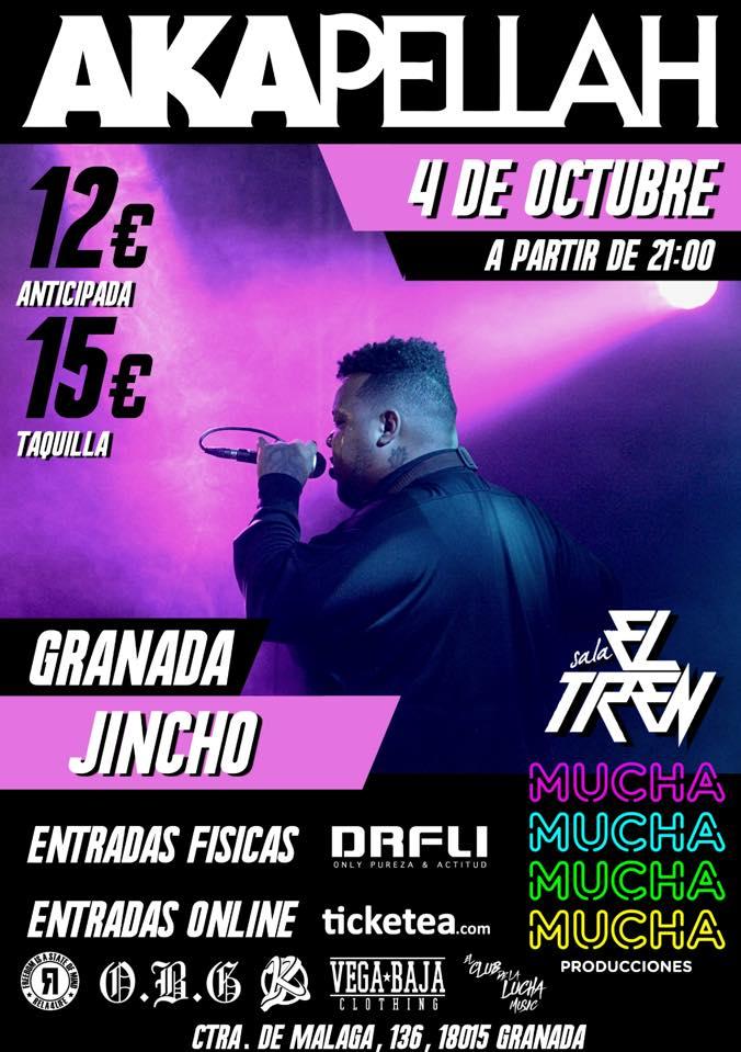 Akapellah Granada 2018 - Sala El Tren (04/10/18)