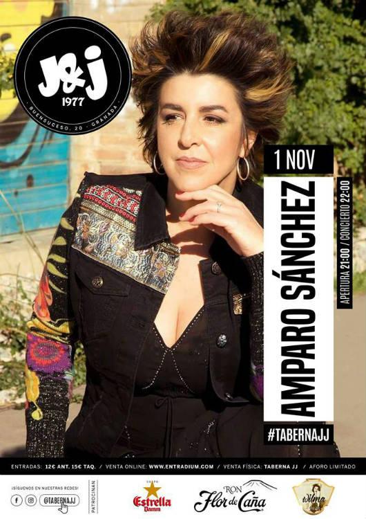 Amparo Sánchez - Taberna JJ (01/11/18)