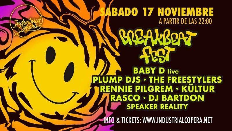 Breakbeat Fest - Industrial Copera (17/11/18)