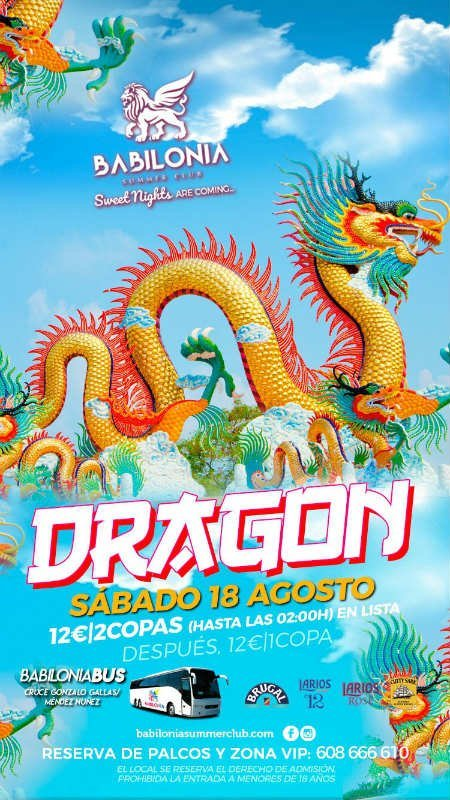 Dragon Babilonia Summer Club Granada