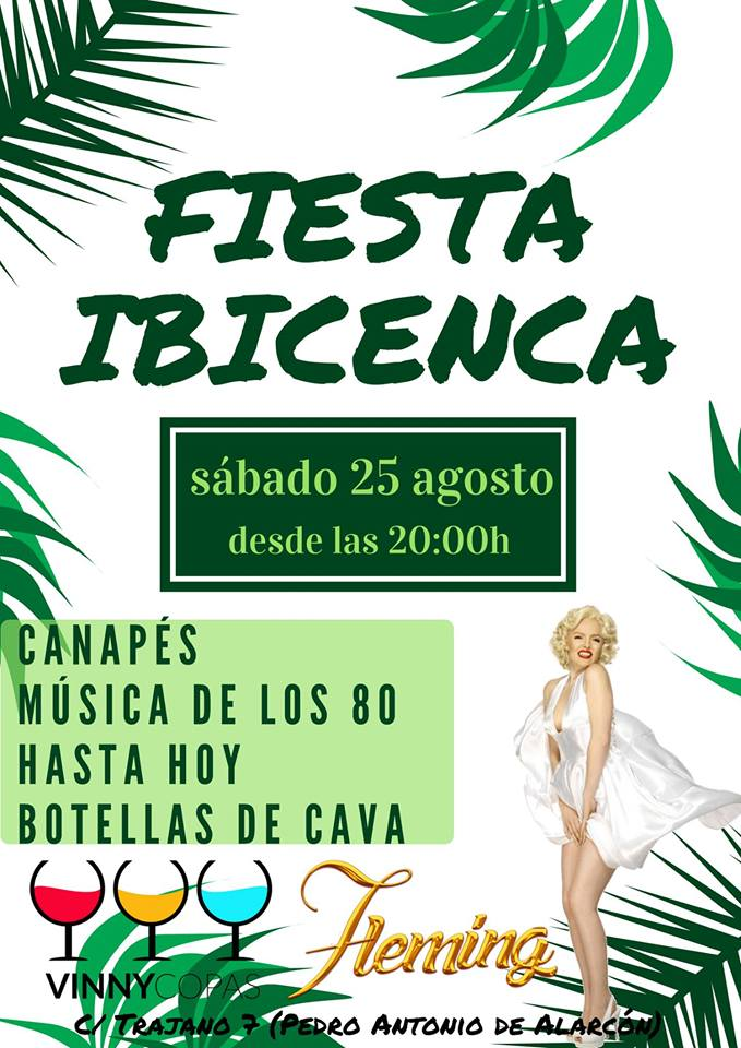 Fiesta Ibicenca Fleming - Vinny Copas (25/08/18)