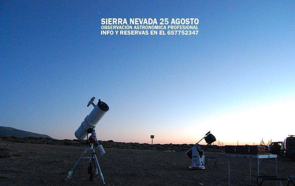 La Ruta de las Estrellas - Sierra Nevada (25/08/18)