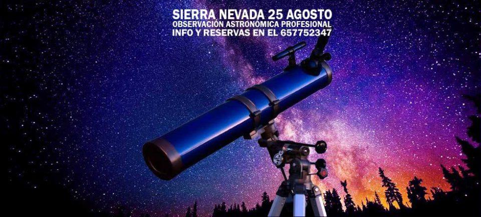 La Ruta de las Estrellas Sierra Nevada Granada