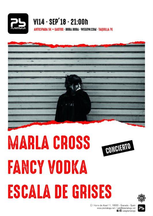 Marla Cross Escala de Grises Fancy Vodka Sala Planta Baja Granada