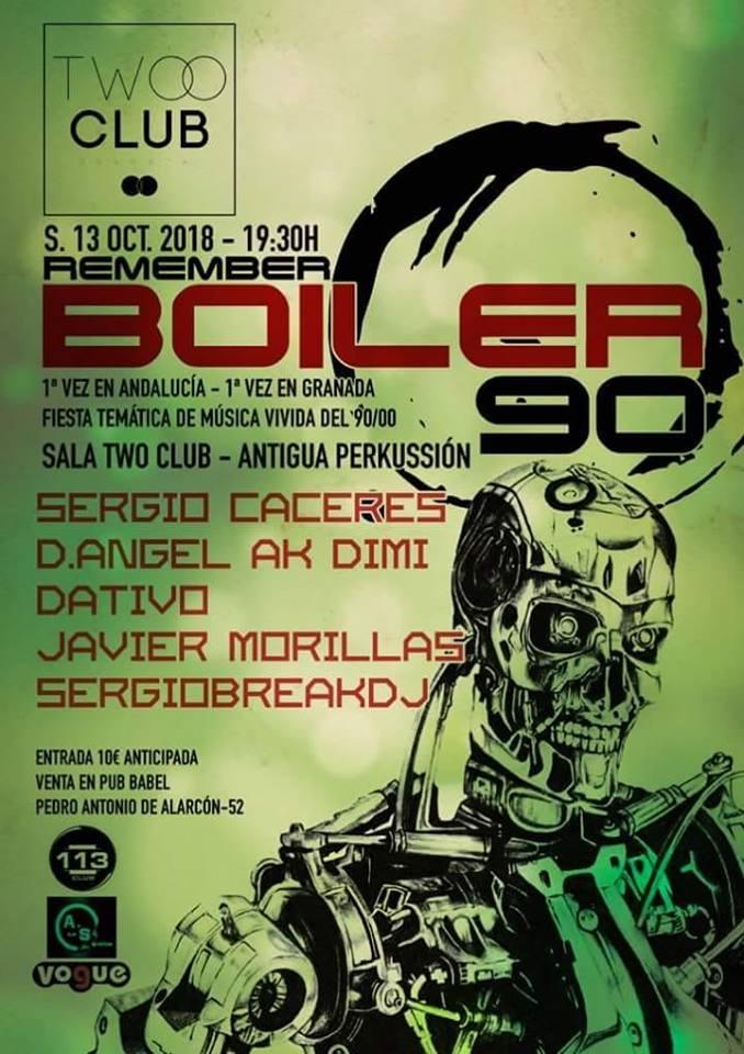 Retro Perkussion Boiler 90 - Twoo Club (13/10/18)