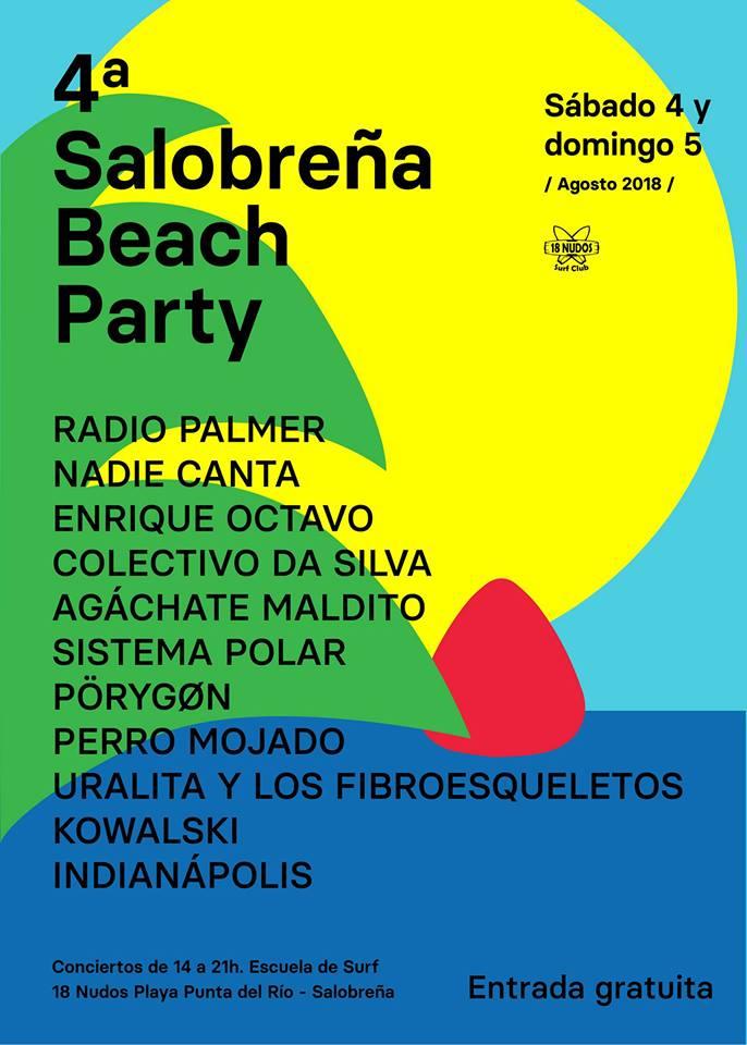 Salobreña Beach Party 4a Edición (4,5/08/2018)
