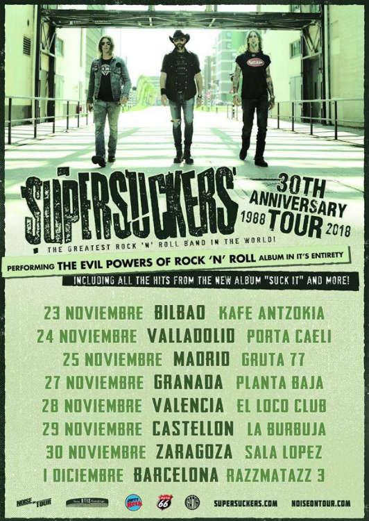 Supersuckers - Planta Baja (27/11/18)