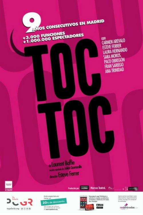 Toc Toc - Palacio de Congresos (07/10/18)