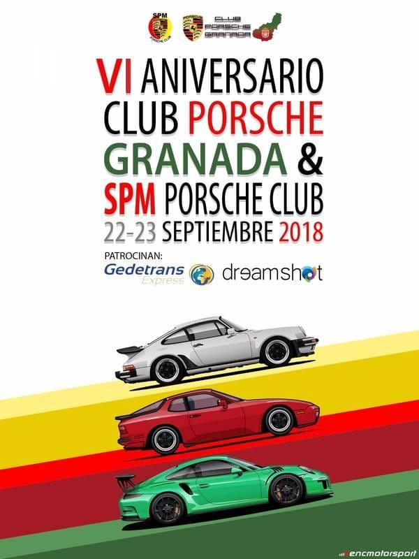VI Aniversario Club Porsche Granada & SPM (22,23/09/18)