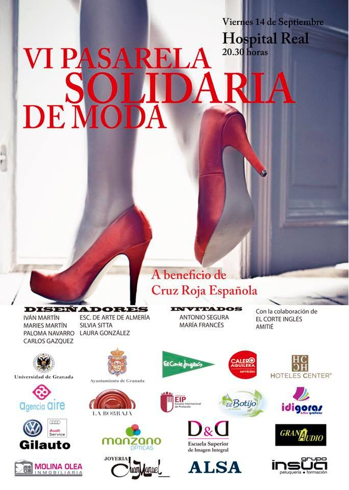 VI Pasarela Solidaria De Cruz Roja - Hospital Real (14/09/18)