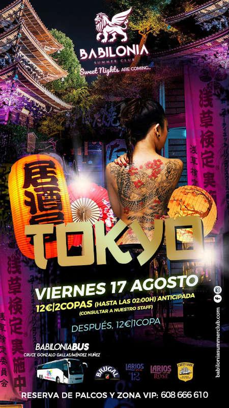 Welcome to Tokyo - Babilonia Summer Club (17/08/18)
