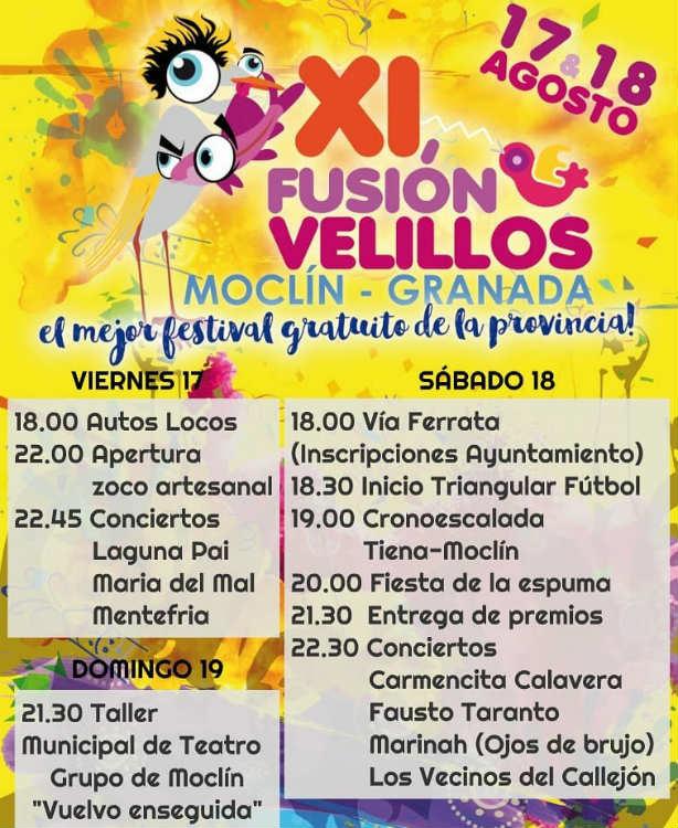 XI fusion Velillos - Moclin (17,18/08/18)