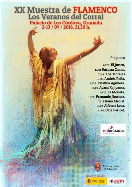 XX Muestra del Flamenco Los Veranos del Corral (2-13/09/18)