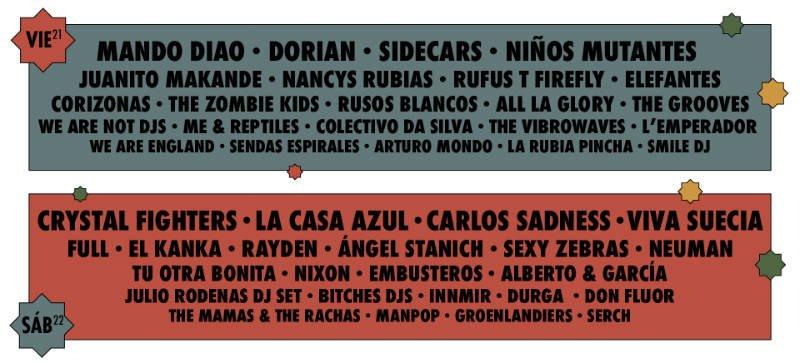 Festival Granada Sound 2018 (21,22/09/18)