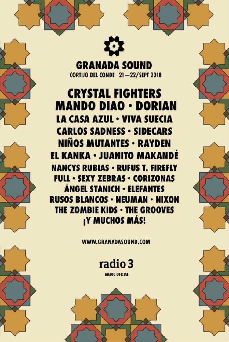 festival granada sound 2018