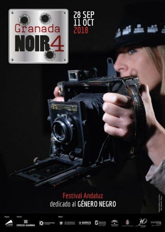 Granada Noir 4 - Festival Andaluz de Género Negro (28/09-11/10/18)