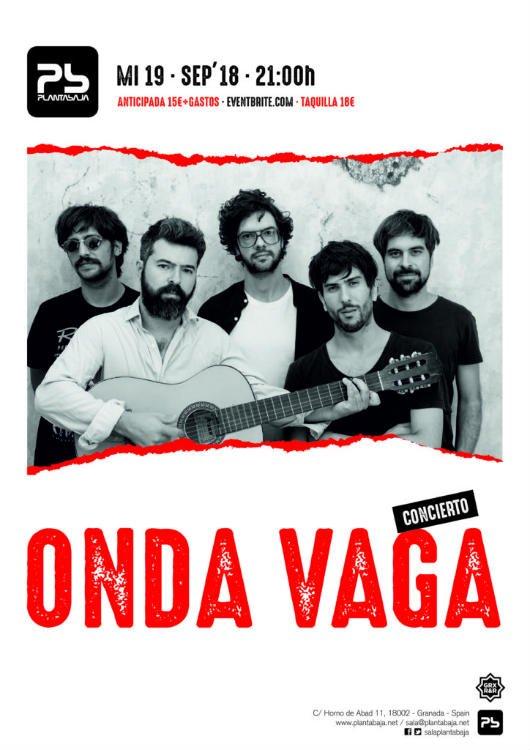 Onda Vaga - Planta Baja (19/09/18)