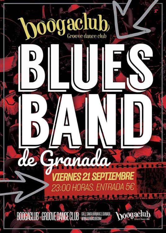 Blues Band de Granada - Boogaclub (21/09/18)