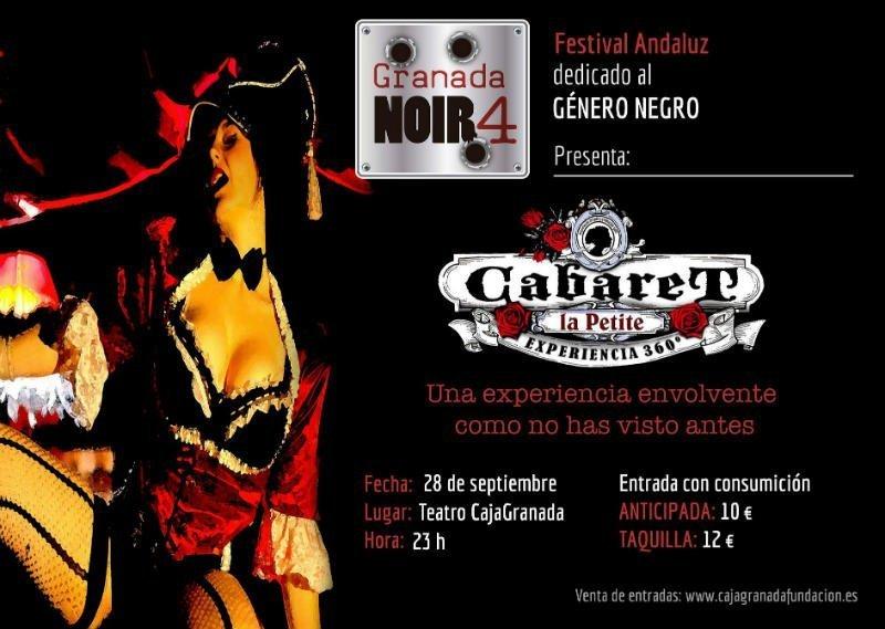 Cabaret La Petite 360 - CajaGranada Fundación (28/09/18)