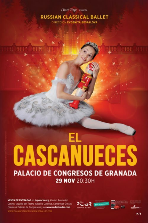 El Cascanueces. Russian Classical Ballet - Palacio de Congresos (29/11/18)